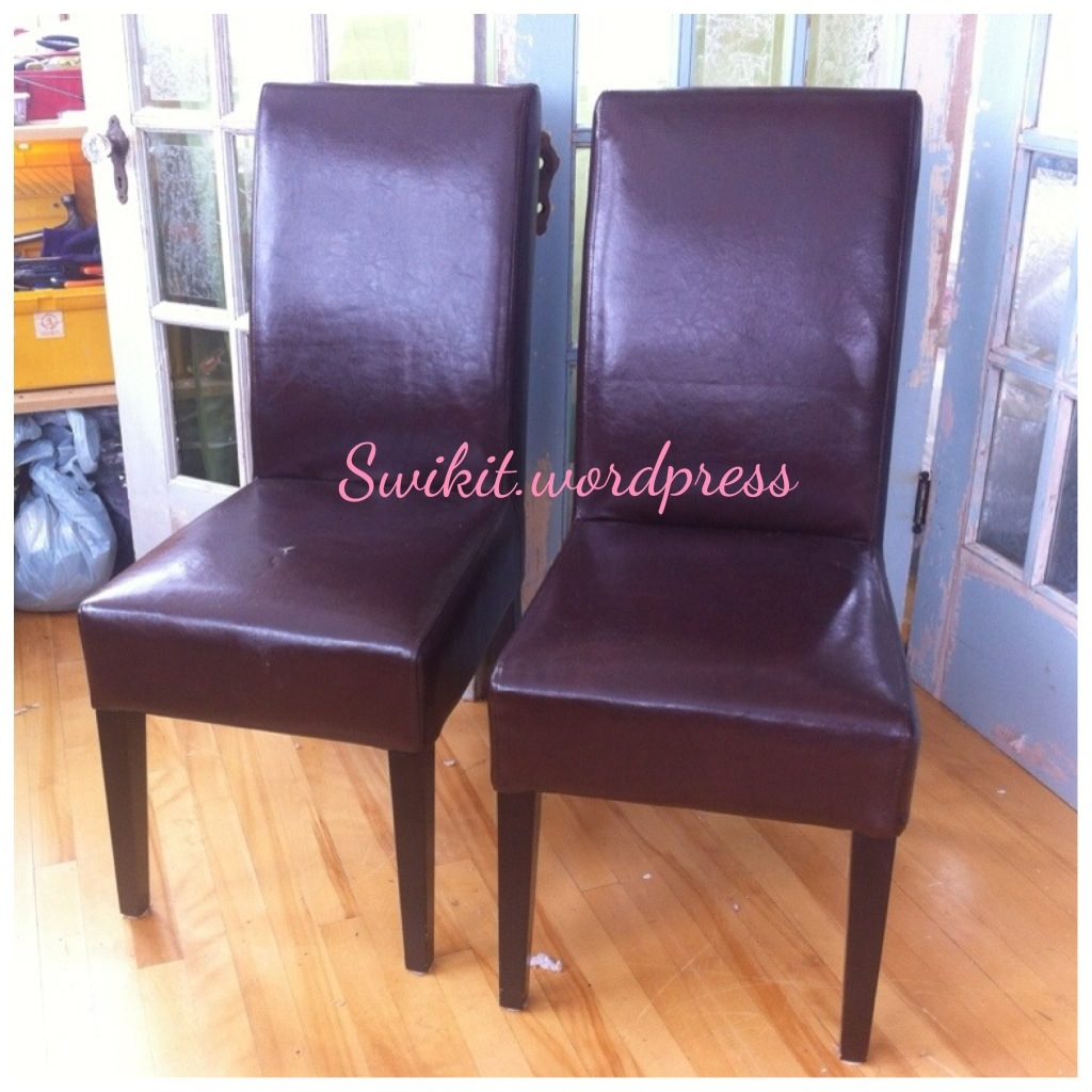 DIY ReUpholster Your Parsons Dining Chairs Tips From A