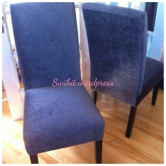 Parsons Chair Cover Tutorial Covers For Sale In Bloemfontein Diy Re Upholster Your Dining Chairs Tips From A