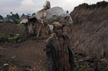 1 million people fled the Democratic Republic of the Congo last year.