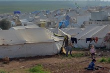 An estimated 7.6 million Syrians have been internally displaced.