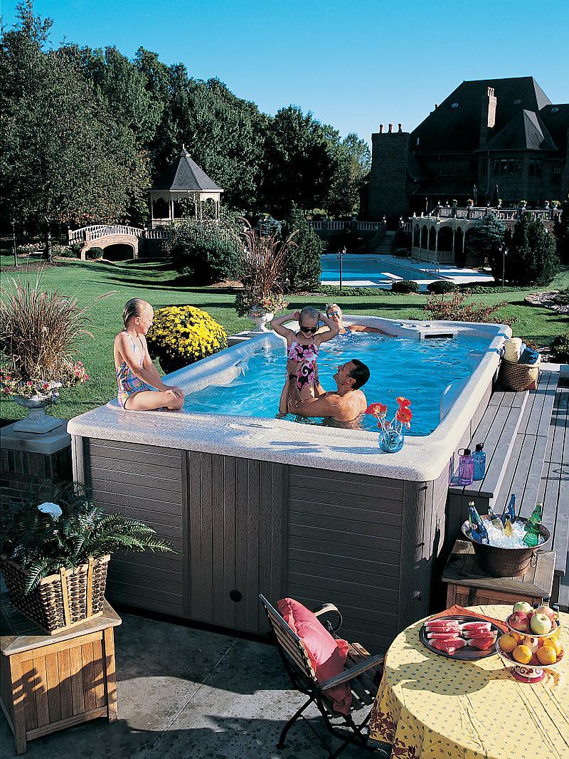 Backyard Hot Tub Landscaping