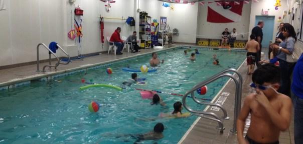 Swim party 2-2-15