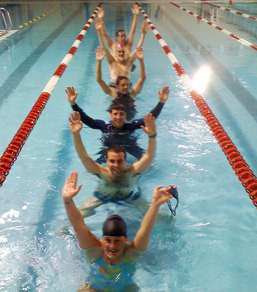 Masters Swimmers!