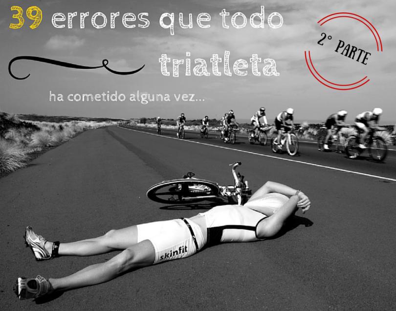 39 errores de triatleta novato
