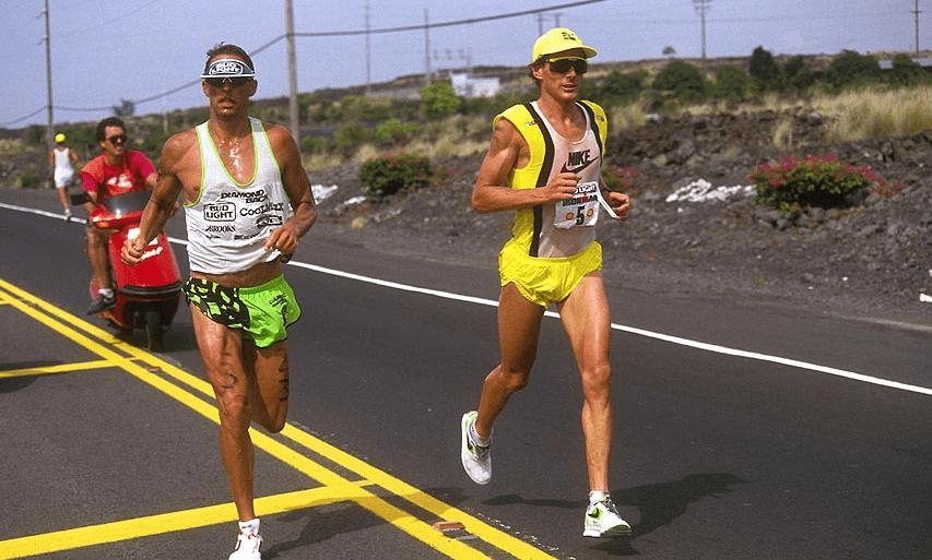 Dave Scott y Mark Allen