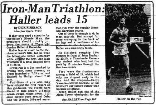 Crónica del primer Ironman Hawái de la historia.