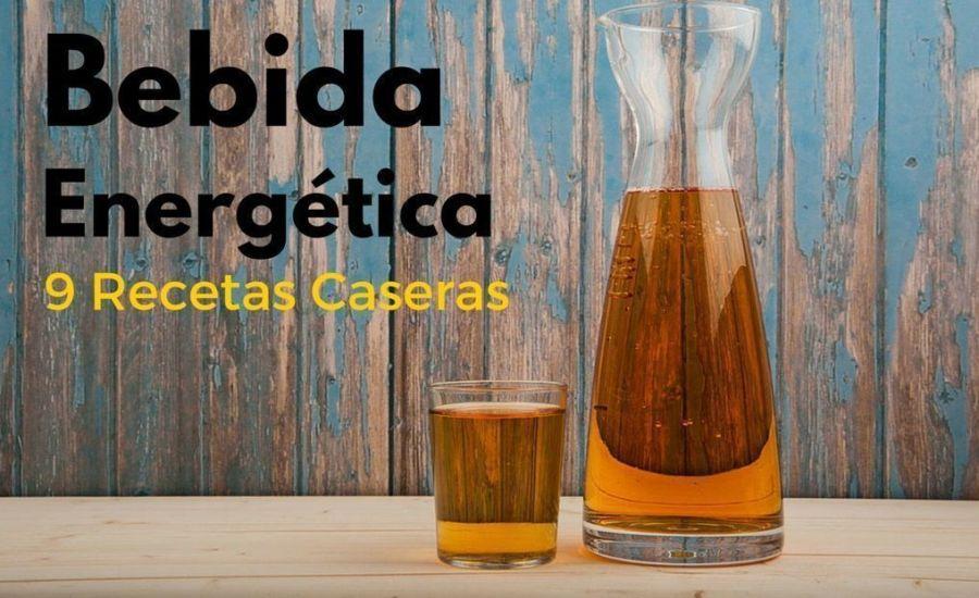 9 recetas bebida energética