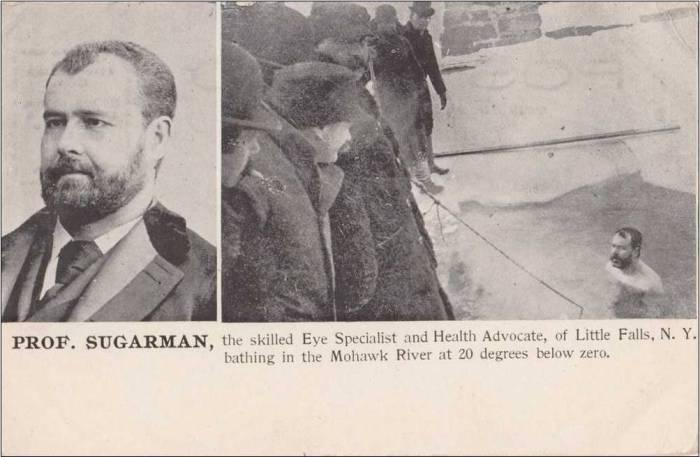 """Profesor Sugarman, más conocido como """"The Human Polar Bear"""""""