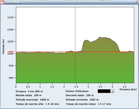 Xterra Suiza run profile