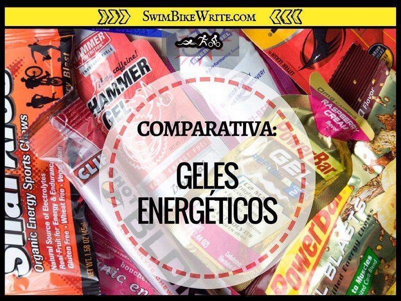 geles energéticos ingredientes