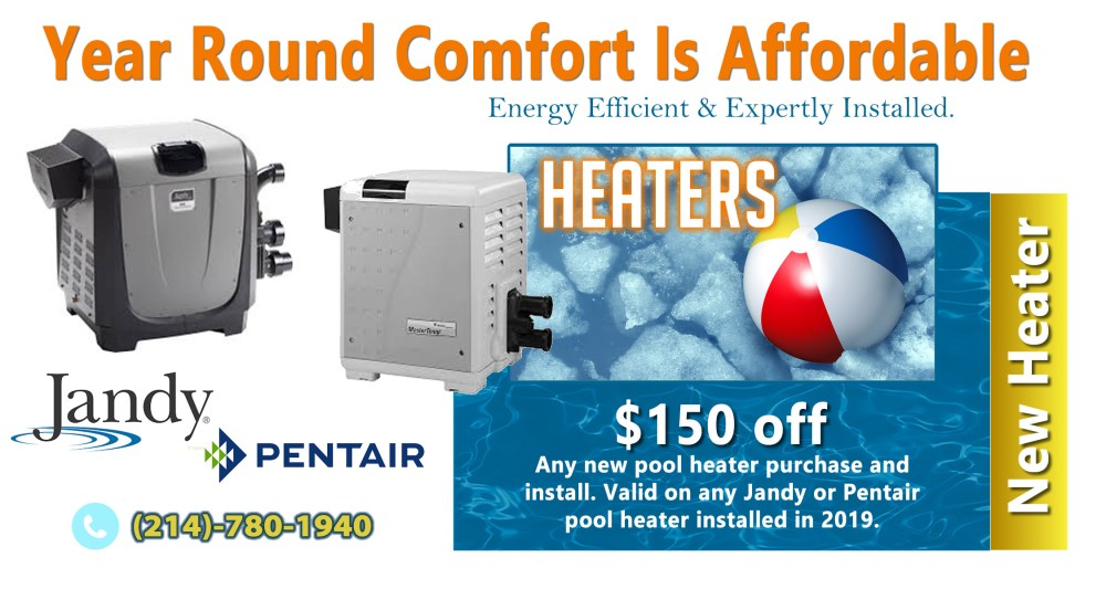 medium resolution of even though we enjoy great year round weather in dallas you really need a pool heater for your inground pool if you intend to use and enjoy your pool all