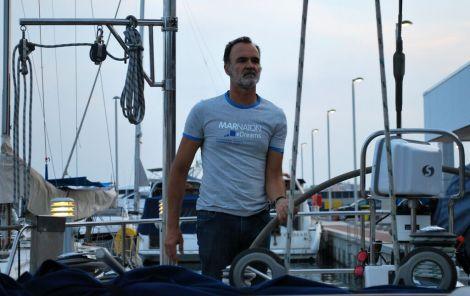 Puerto de Blanes. Guillermo Sagnier: Capitan y Nadador