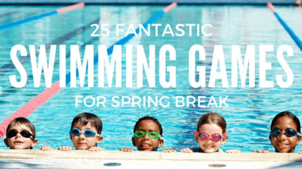 25 Swimming Games For Spring Break | SwimJim Swimming Lessons