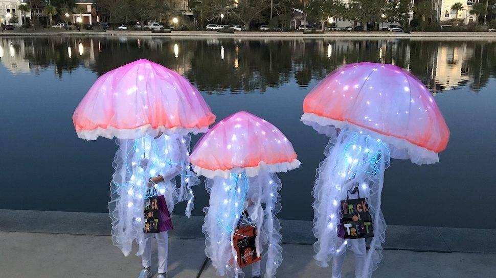 Jellyfish Children Halloween Costume