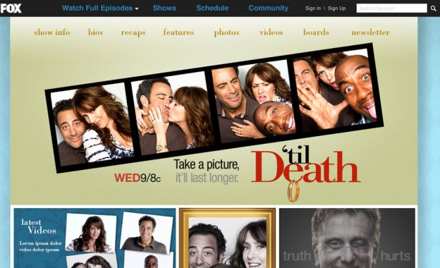 'Til Death show site.
