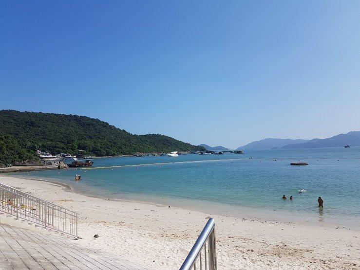 三星灣泳灘 – 暢游香港