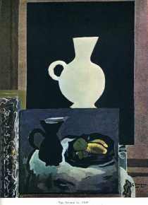 The studio, l'Atelier - Georges Braque-1949