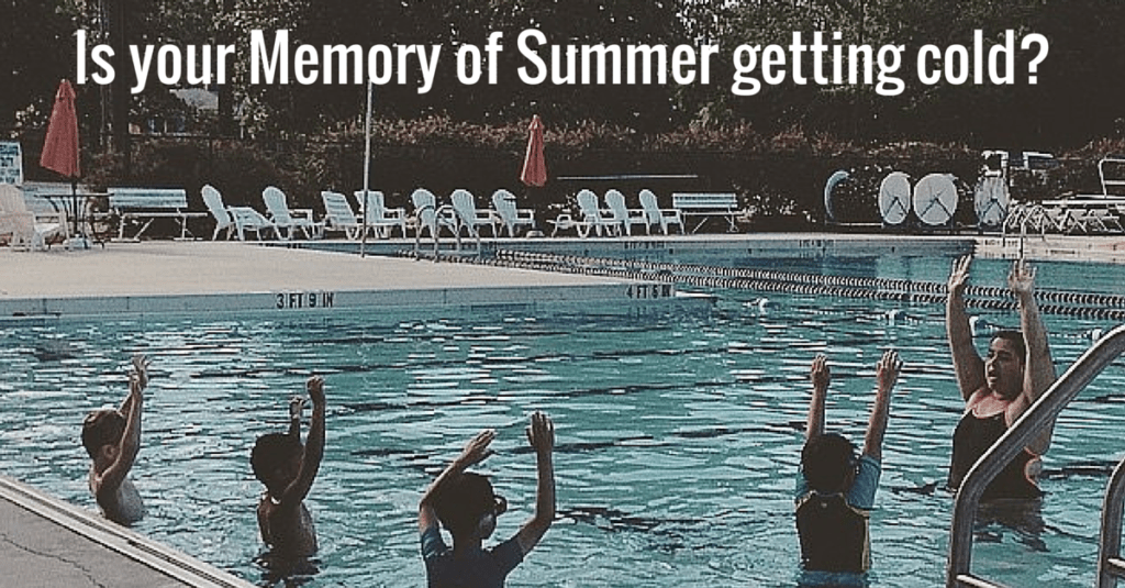Revive your Summer Swim Lessons this Winter