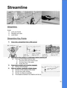 SLI Swim Instructor Workbook Streamline