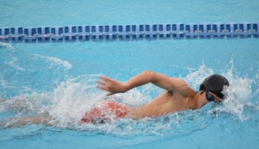 水泳の25m平均タイム