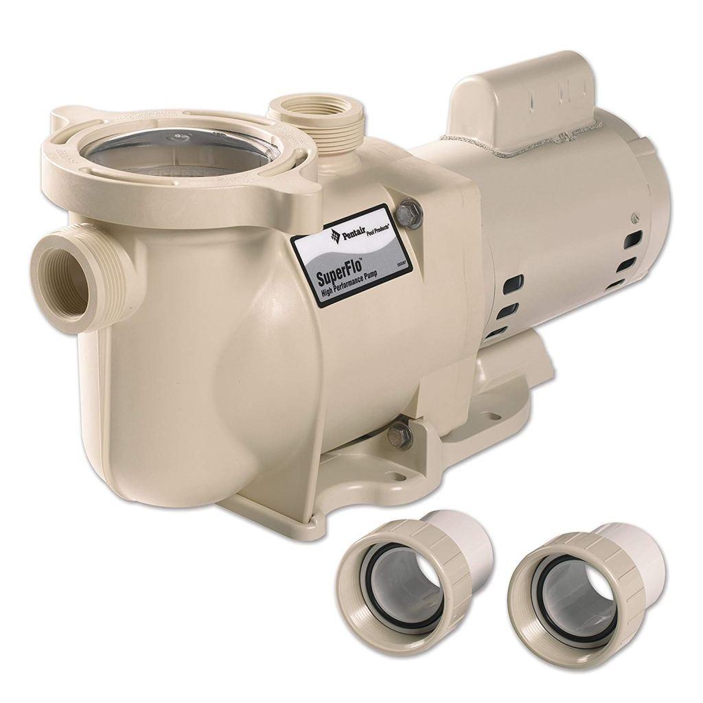 Pentair superflo pool pump 2 hp