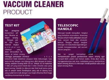 vacum cleaner set kolam
