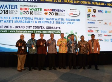 Opening Ceremony Indowater Expo Forum 2018 Grand City Convex Surabaya