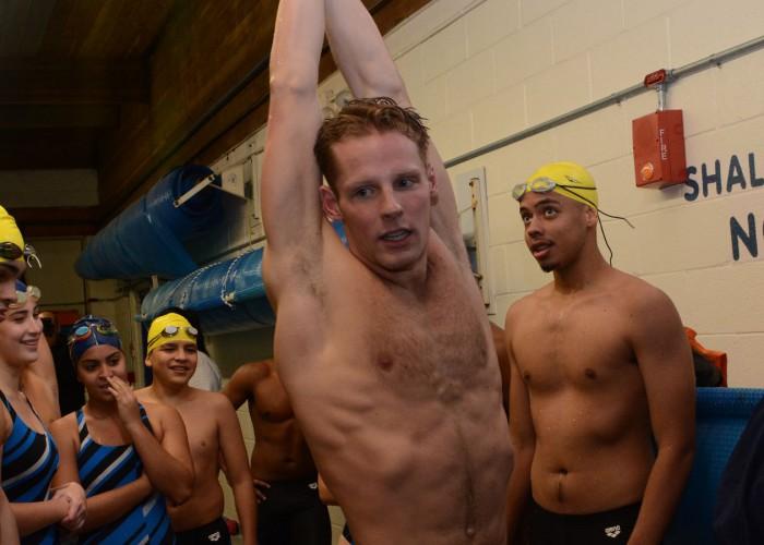 Tom Luchsinger swimming streamline