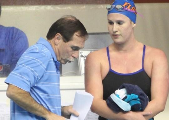 1/8/2011; Gainesville, Fla.; University of Florida Gators Swimming & Diving vs. Georgia Tech. Women's Swimming.