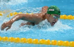 FINA World Championships Chad le Clos