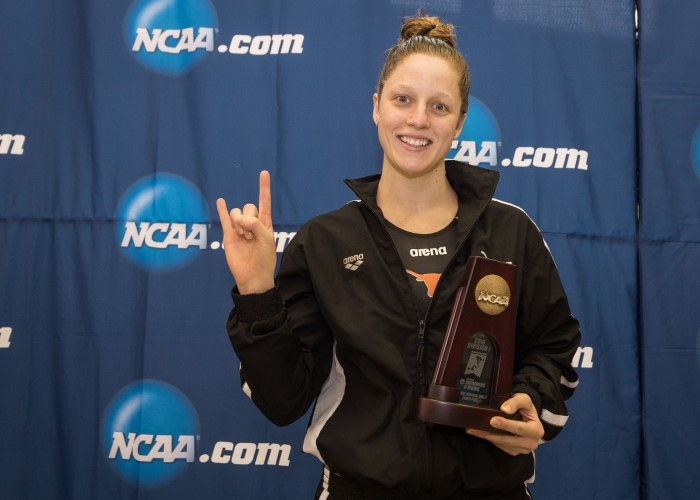 2016.03.17 2016 Womens NCAA Swimming Championships Madisyn Cox Texas