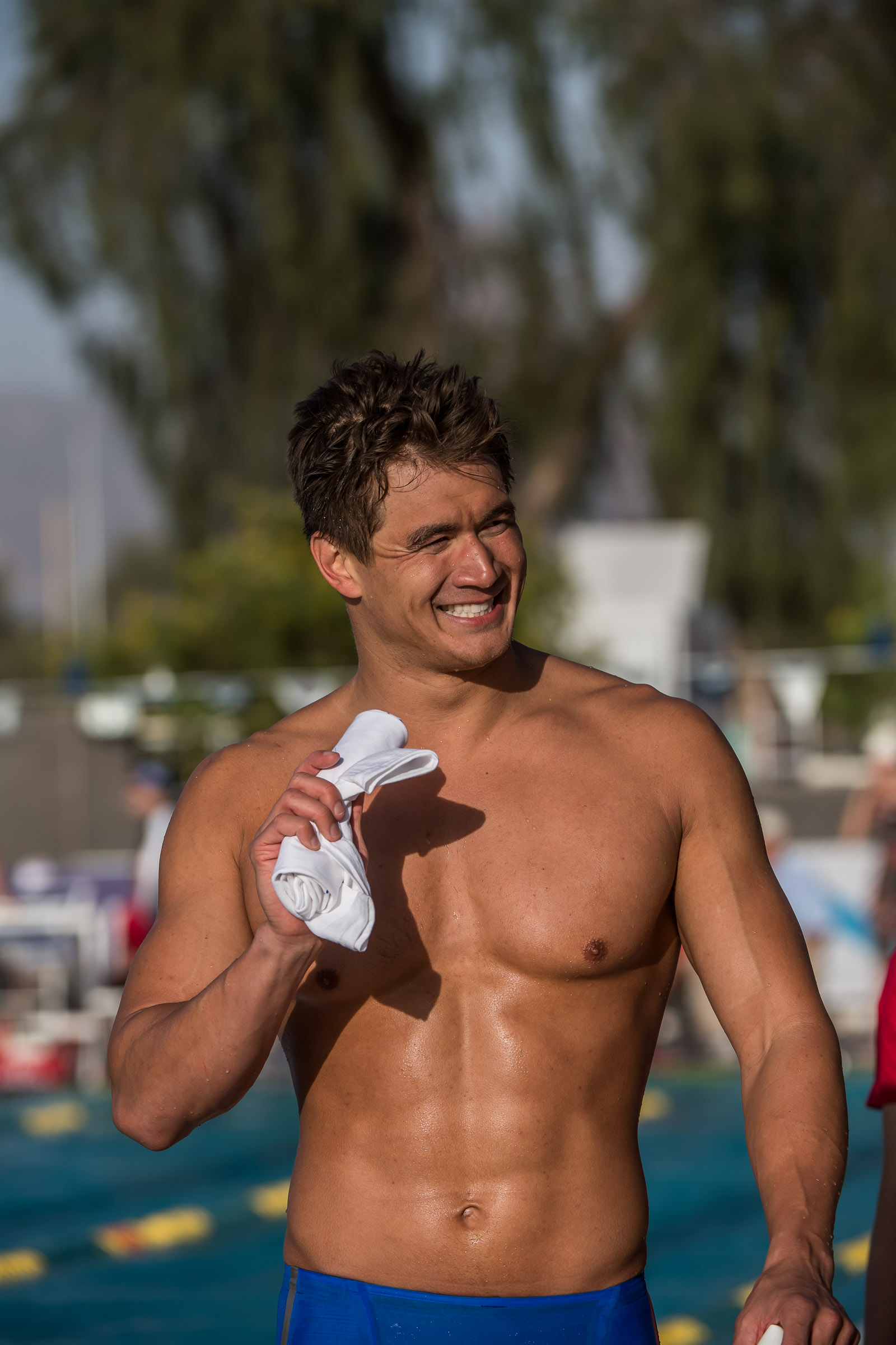 Video Interview Nathan Adrian Made Mesa More Of A
