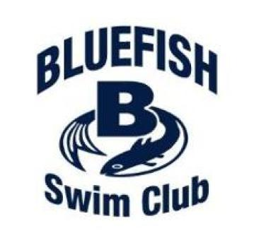bluefish swim club team logo