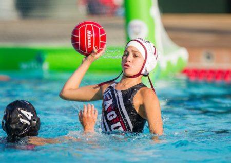 July 26, 2016; Stanford, CA, USA; USA Water Polo Junior Olympics 10G Laguna Beach v Stanford. Photo Credit: Kelley L Cox-KLC fotos
