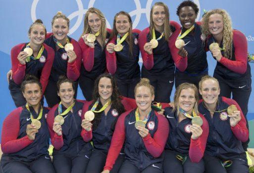 USA Water Polo - Women - USA vs Italy GOLD MEDAL GAME