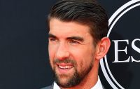 July 12, 2017; Los Angeles, CA, USA; Former olympic swimmer Michael Phelps arrives for the 2017 ESPYS at Microsoft Theater. Mandatory Credit: Jayne Kamin-Oncea-USA TODAY Sports