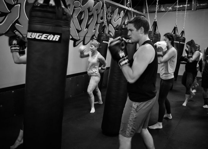 kickboxing Grit Box Fitness