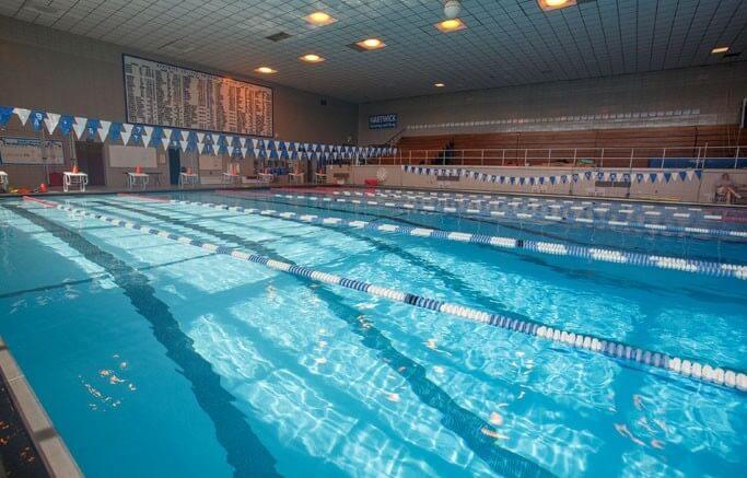 Hartwick College pool