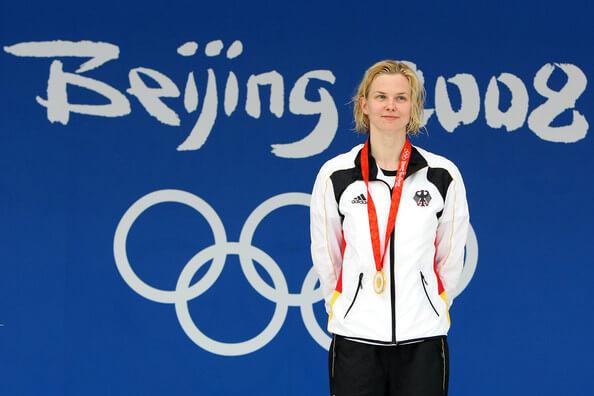 Britta Steffen Beijing 2008