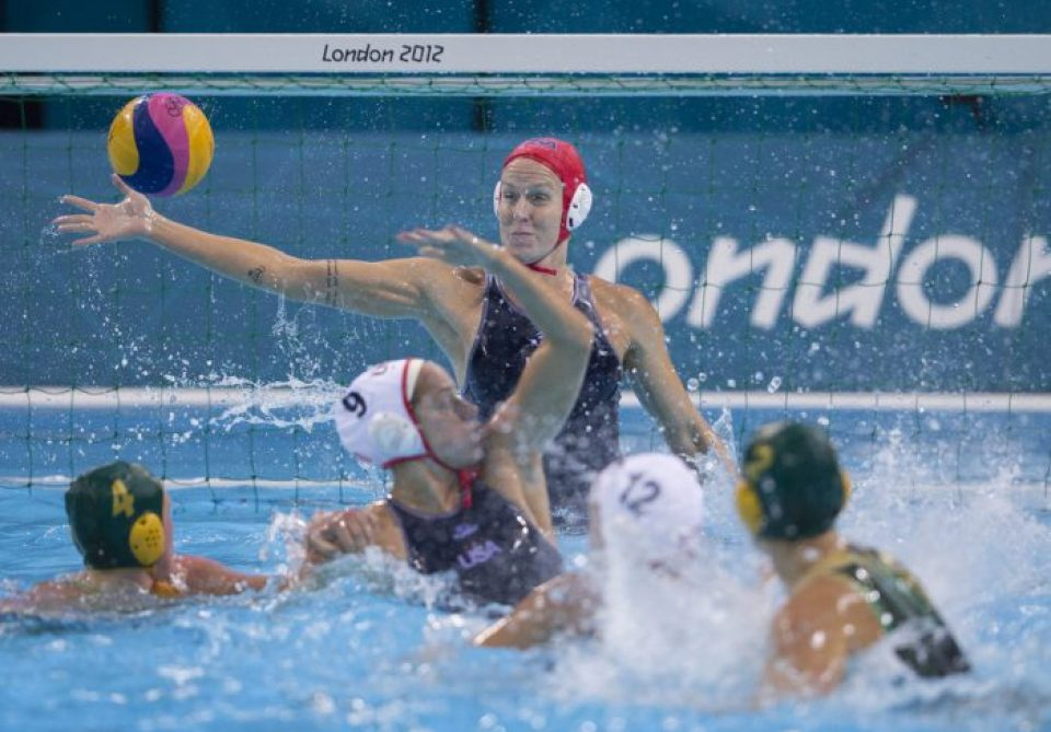 London Olympics - USA Water Polo Women vs. Australia - Semifinals - Overtime Win