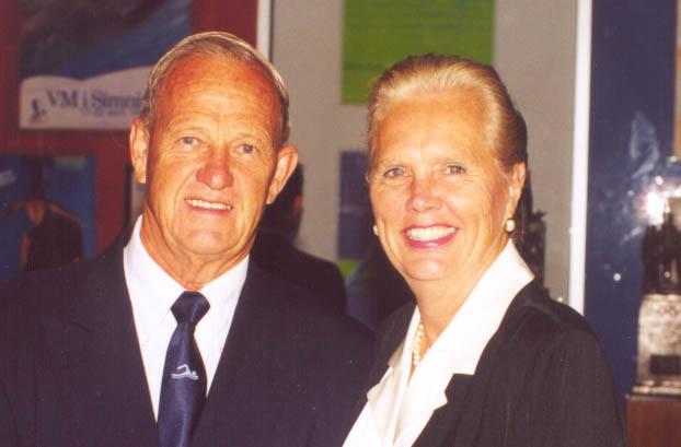 Graham and Mrs Johnston