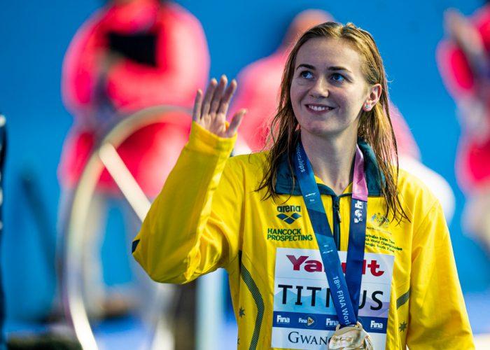 ariarne titmus, best women's swimmers