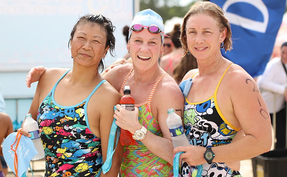Medal winners at Barbados Open Water