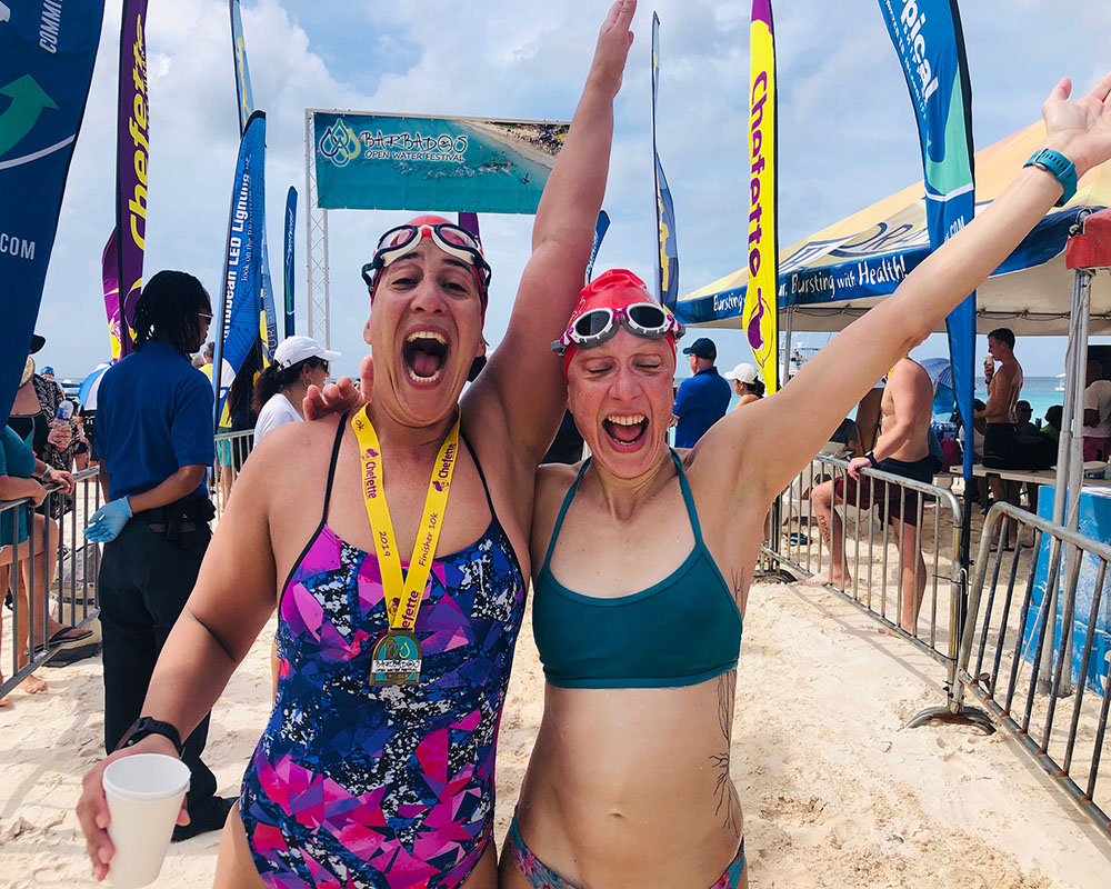 2019 Barbados Open Water Festival Finishers