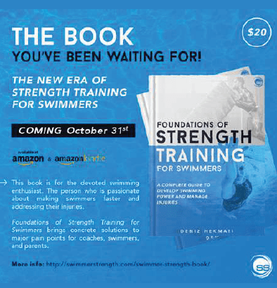 Swimming Strength - Foundations of Strength Training book ad 2020