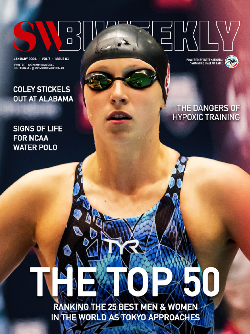 SW Biweekly 1-7-21 - The Top 50 - Ranking The Best 25 Men and Women In The World As Tokyo Approaches - COVER