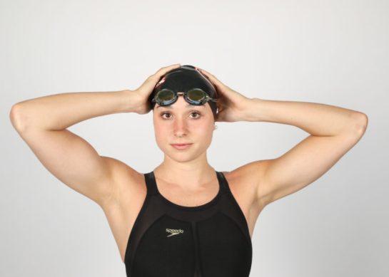 Georgia swimmer Courtney Harnish (Photo by Chamberlain Smith)