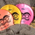 SvømUd-badehætte med DSV-logo
