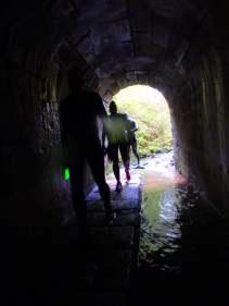 SwimRun Revierguide Franken - Kanal und Tunnel