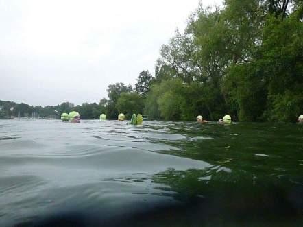 SwimRun Revierguide Ratzeburg - Icebug im Wasser